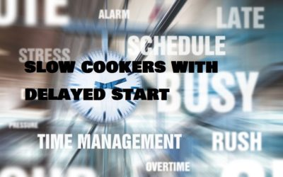 Slow cookers with delayed start