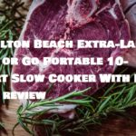 Hamilton Beach Extra-Large Stay or Go Portable 10-Quart Slow Cooker With Lid Lock review