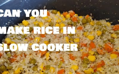 Can you make rice in a slow cooker