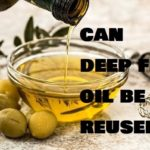 Can deep fry oil be reused