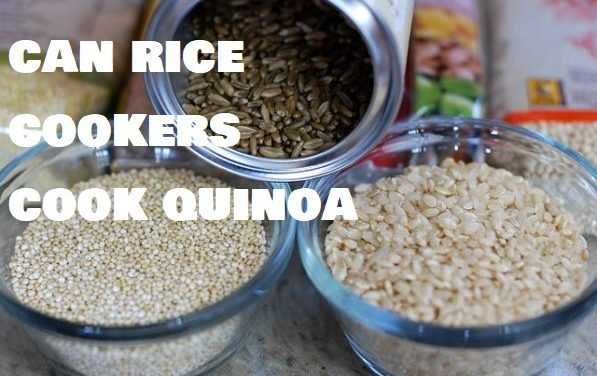 Can rice cookers cook quinoa